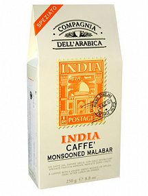 Кофе молотый Compagnia Dell` Arabica India Monsooned Malabar (250 г)